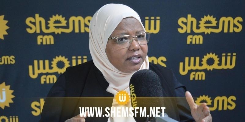 Jamila Ksiksi : « les propos de Kais Saied sur les forces armées sont déplacées et contraires à la Constitution»