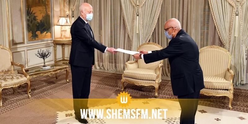 رئيس الجمهورية يتسلم رسالة خطية من الرئيس الانتقالي لمالي