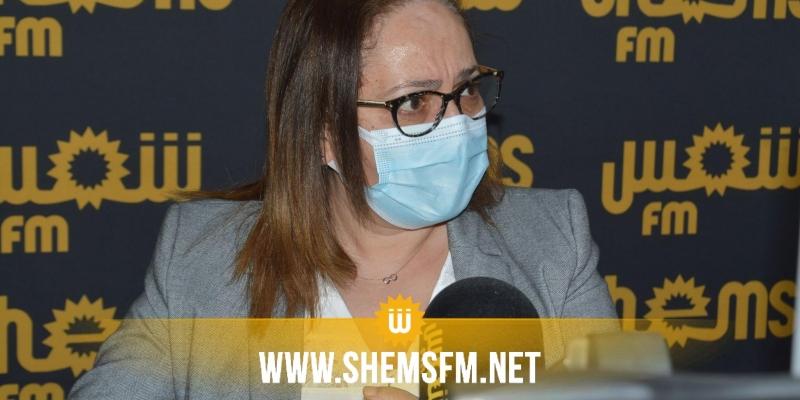 رفضت التطرق للتلاقيح والأكسجين: بن علية تؤكد أنها مكلفة بالحديث عن الوضع الوبائي
