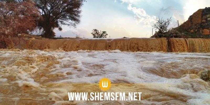 وزارة الفلاحة توصى بعدم الاقتراب من المنشآت المائية والأودية وعدم الإبحار في ظل الظروف الجويّة المتقلّبة