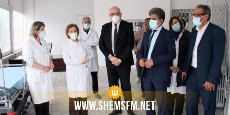 وزير الصحة يزور مستشفى الحبيب ثامر