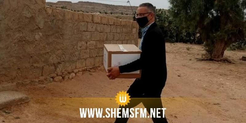 سيدي بوزيد: توزيع مساعدات اجتماعية بمناسبة عيد الفطر