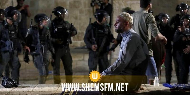 اصابة 250 فلسطينيا في مواجهات الاقصى