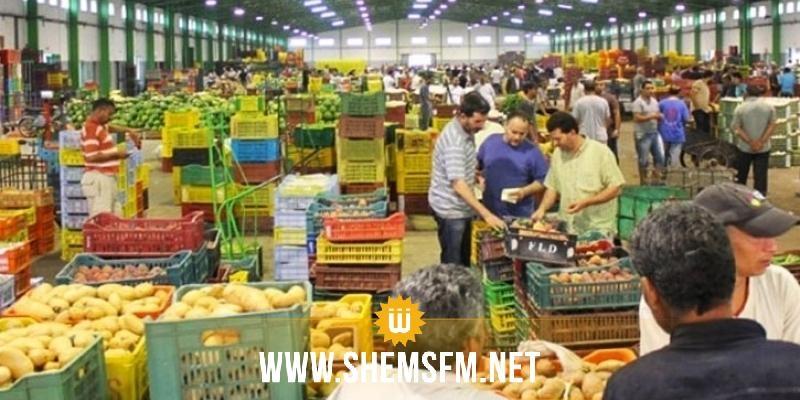 الأسواق اليومية مفتوحة في بلدية سوسة