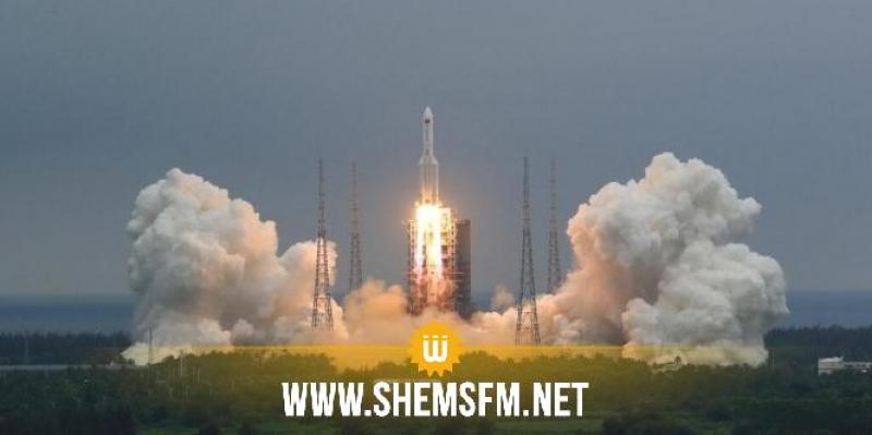 الصاروخ الصيني يسقط في المحيط الهندي