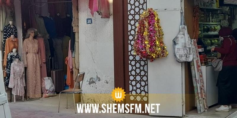 جندوبة: باعة الخضر وتجار الملابس يواصلون نشاطهم رغم التدخل الأمني (صور)