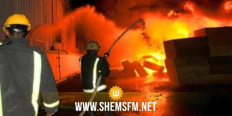 مجاز الباب: حريق بمصنع الطماطم وخسائر مادية بحوالي 300 ألف دينار