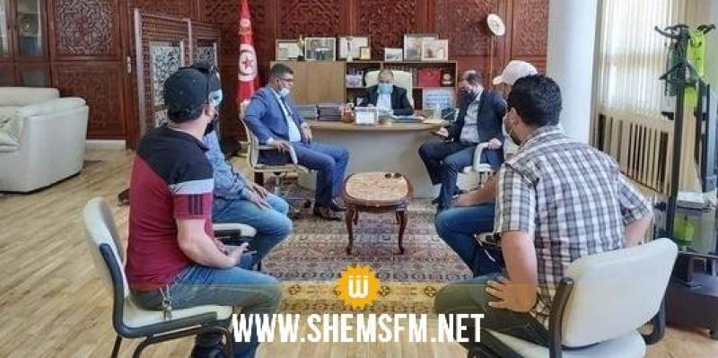 بنزرت: التجار يطالبون بمواصلة نشاطهم والوالي يتعهد بنقل مطالبهم للجهات المركزية