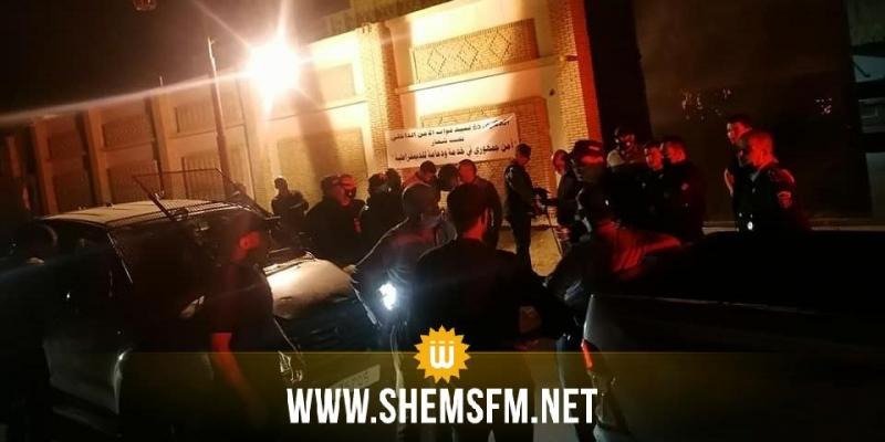 بسبب نقص العنصر البشري في مواجهة متطلبات الحجر الشامل: الأمنيون في توزر يحتجون