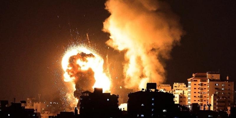 غزة تحت القصف الصهيوني