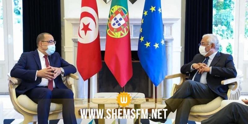 مشيشي ونظيره البرتغالي يتفقان على عقد الاجتماع الخامس للجنة العليا المشتركة بلشبونة موفى 2021