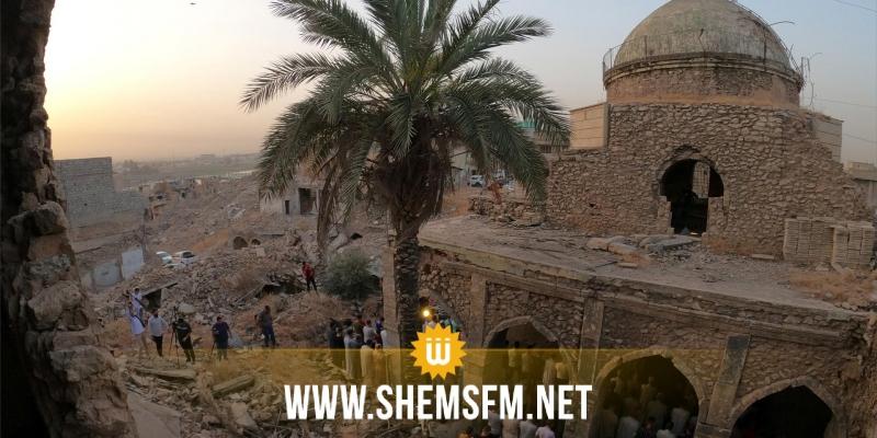 رغم الحجر الشامل: أقدم مسجد في الموصل يستقبل المصلين لإقامة صلاة العيد