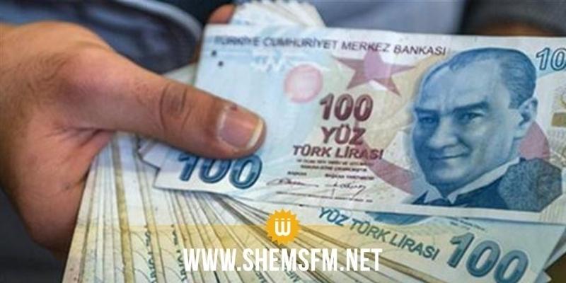 الليرة التركية عند أدنى مستوى هذا العام