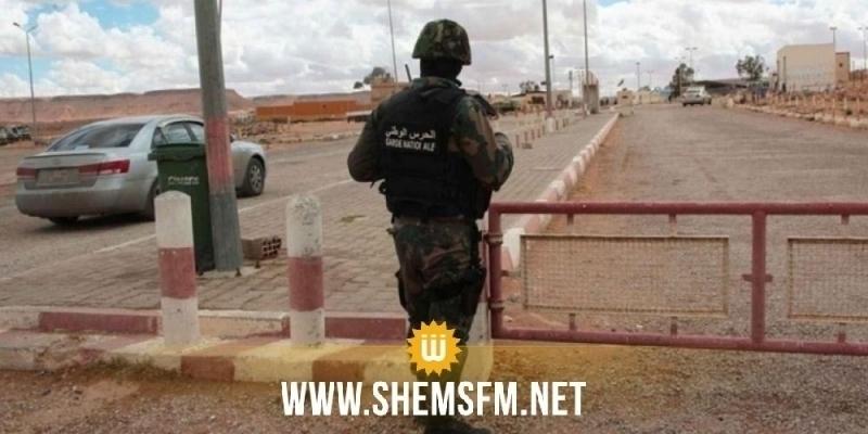 Kasserine : arrestation d'une personne ayant franchi les frontières illicitement