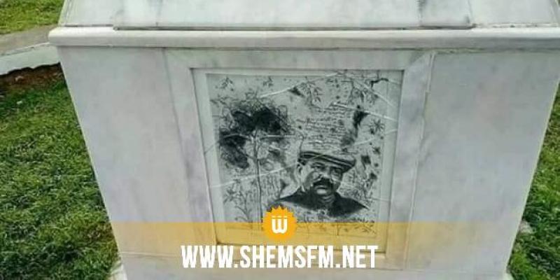 جندوبة: تخريب النصب التذكاري للشهيد بلعيد والوطد يستنكر بشدة (صور)