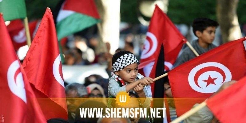 سوسة: وقفة مساندة وتضامن مع الشعب الفلسطيني
