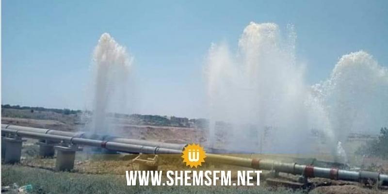 Des déprédations perpétrées sur le réseau de la SONEDE ont perturbé l'approvisionnement en eau potable