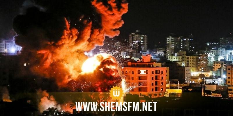 صحفي فلسطيني: 'القصف الصهيوني على غزة متواصل وعدد الشهداء يرتفع إلى 123 شهيدا'