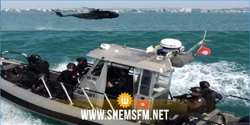 جيش البحر: استضافة تمرين بحري مشترك متعدد الأطراف عرض السواحل الشمالية للبلاد التونسية