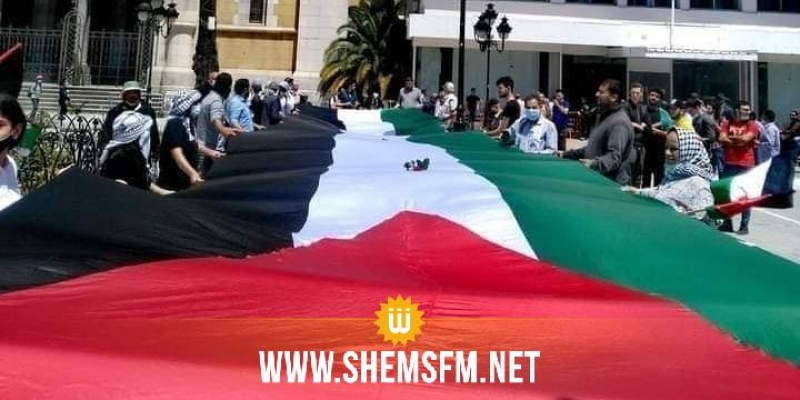مسيرات في عدد من الولايات التونسية منددة بالعدوان الصهيوني الغاشم