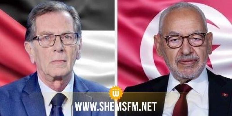 رئيس البرلمان يؤكد على دعم تونس المطلق للحقوق المشروعة للشعب الفلسطيني