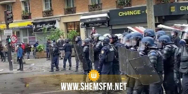 ايقاف العشرات أثناء مظاهرة مؤيدة لفلسطين في باريس