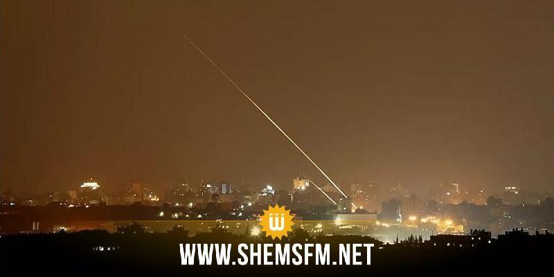 كتائب القسام تُعلن استهداف تل أبيب بوابل من الصواريخ