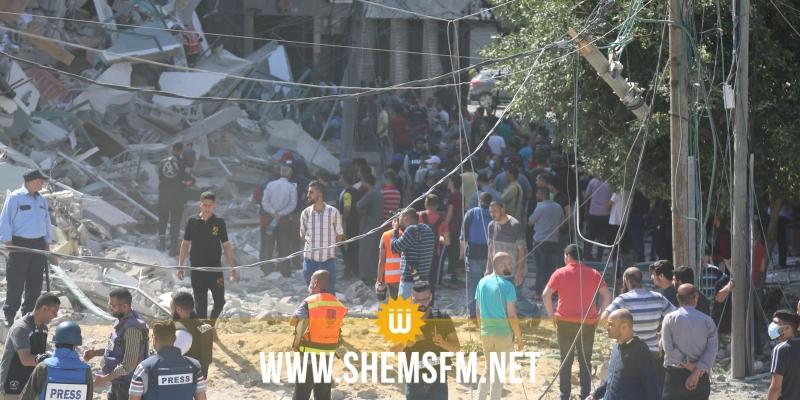 فلسطين: حصيلة العدوان الصهيوني تتجاوز 177 شهيداً بينهم 47 طفلا