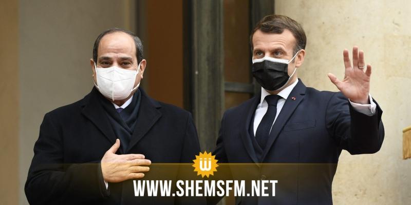 الإليزيه: فرنسا ومصر تعملان على وقف إطلاق النار في غزة