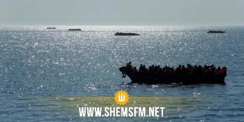 سواحل جربة: إنقاذ 113 مهاجرا غير نظامي كانوا على وشك الغرق