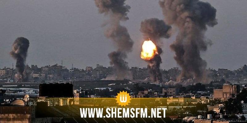 لليوم التاسع على التوالي...غزة تحت القصف