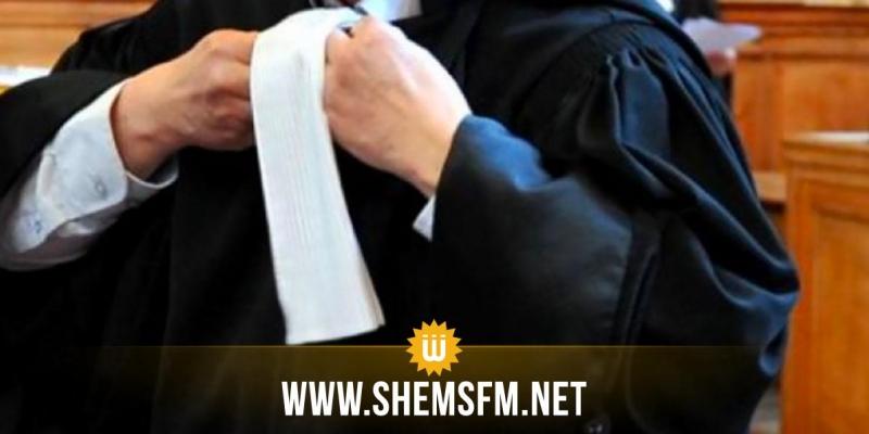 سيدي بوزيد: كتبة المحاكم وعدد من المحامين ينفذون وقفة احتجاجية نصرة للشعب الفلسطيني