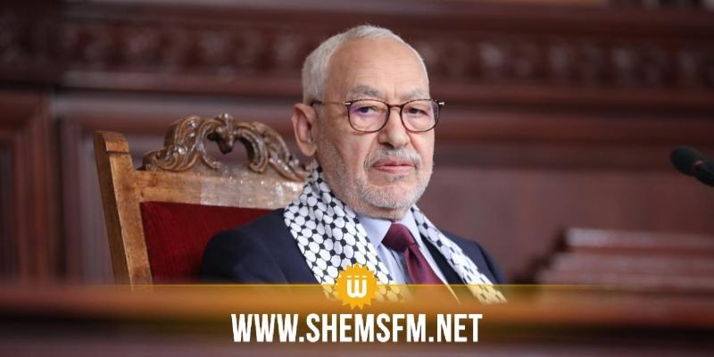 الغنوشي: 'المقاومة الفلسطينية ستُعيد توزيع كل الأوراق وستنتهي بتحقيق الإنتصار التام والشامل'