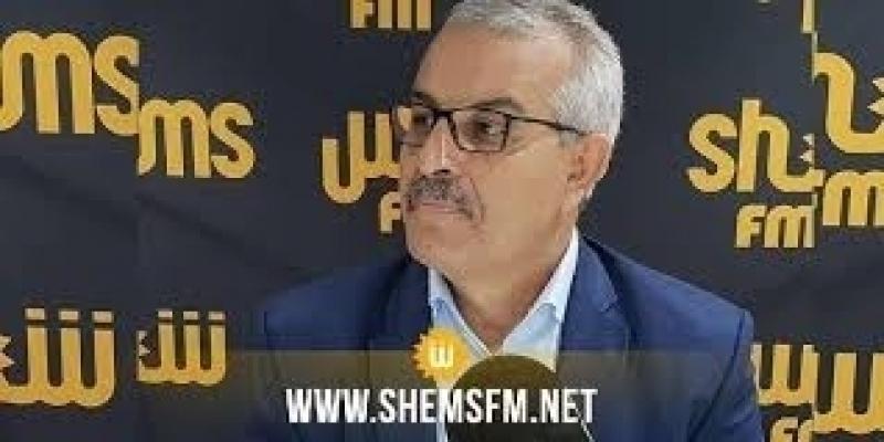 الشفي يدعو إلى ''توضيح موقف تونس بشأن التطبيع مع الكيان الصهيوني عبر إصدار قانون يجرمه''
