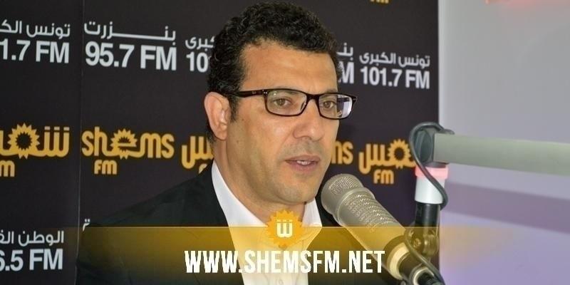 الرحوي: ''ستقع محاولات لقبر مشروع قانون التطبيع مع الكيان الصهيوني من طرف حركة النهضة ورئيسها''