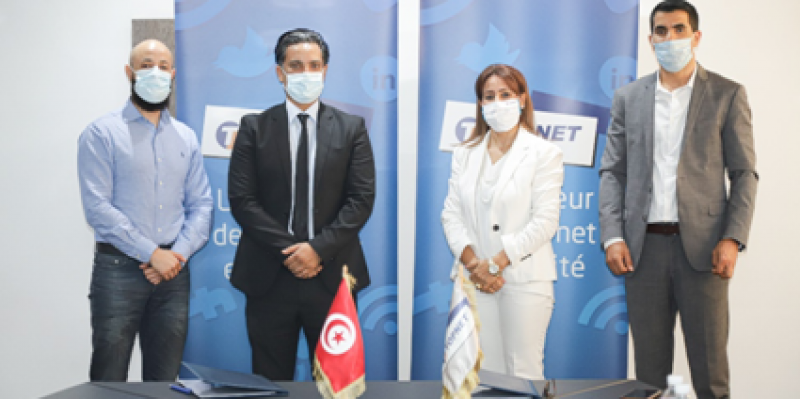 Signature d'un partenariat technologique sur la Cyber-sécurité entre TOPNET et KEYSTONE
