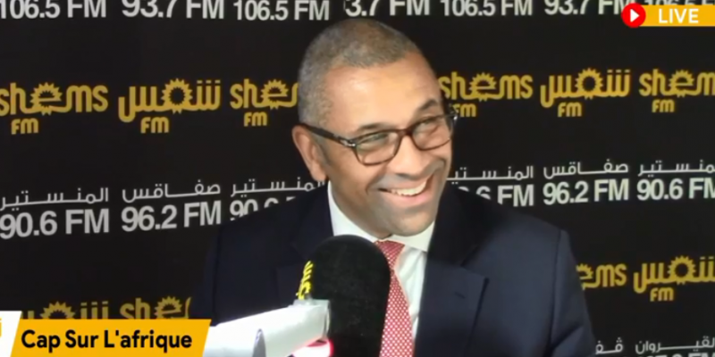 وزير شؤون الشرق الأوسط وشمال إفريقيا البريطاني: نتطلع لعودة السياح البريطانيين إلى تونس