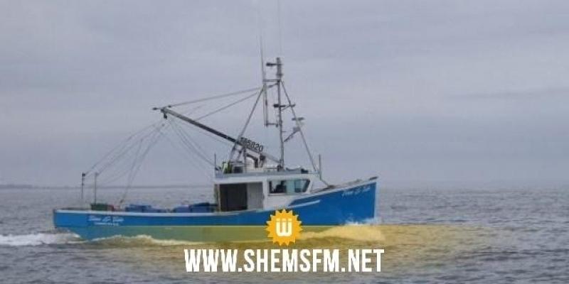 خفر السواحل الليبية يحتجر 3 مراكب صيد تونسية