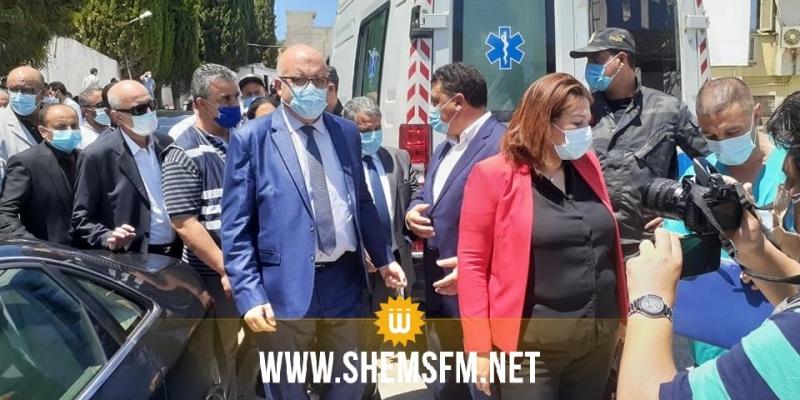 باجة: إحتجاجات وتشكيات تزامنا مع زيارة وزير الصحة للمستشفى الجهوي