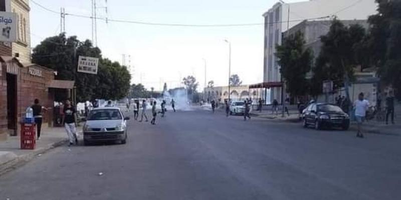 سيدي بوزيد: مواجهات بين محتجين وأمنيين في جلمة