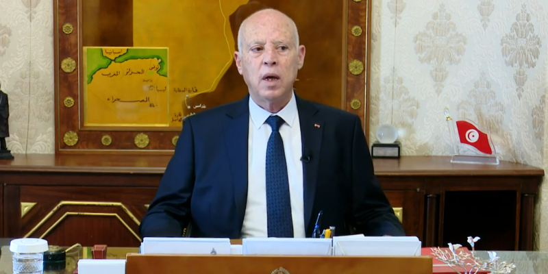سعيد: 'السلطة التنفيذية لدى رئيس الجمهورية ورئيس الحكومة ولا يمكن أن تتحوّل إلى القصبة'