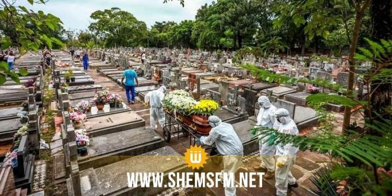 البرازيل: 78700 إصابة و2037 وفاة جديدة بكورونا
