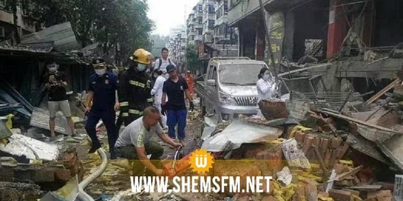 مقتل 12 وإصابة 138 شخصا على الأقل جراء انفجار أنبوب غاز طبيعي في الصين