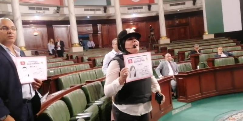 سميرة الشواشي ترفع الجلسة وتتهم نواب الدستوري الحر بالاعتداء على وزيرة التعليم العالي