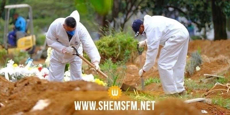 سيدي بوزيد: تسجيل 6 وفيات و 46 إصابة جديدة بفيروس كورونا