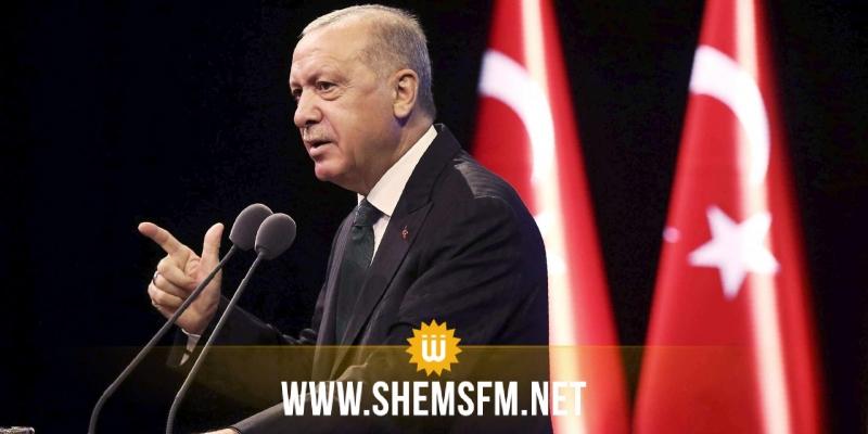 أردوغان: تركيا يمكن أن تعمل مع فرنسا بشأن سوريا وليبيا
