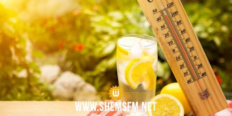 الحرارة تصل اليوم إلى 40 درجة