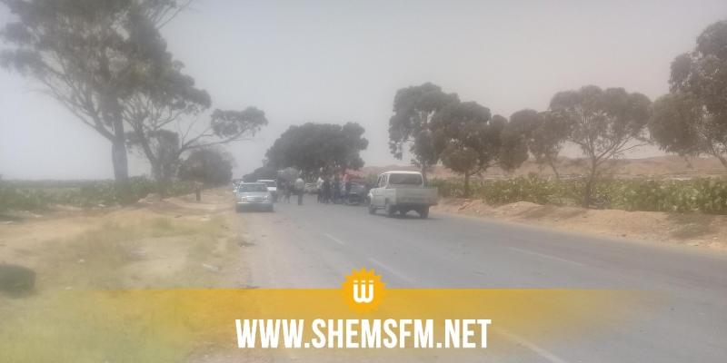 بئر الحفي: إصابة 7 عاملات فلاحيات في حادث مرور