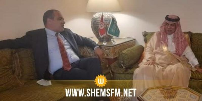 في لقاء مع وزير الاعلام السعودي الاتفاق على تأثيث سهرتين عربيتين في بث موحد في جميع التلفزات العربية ' تلطون عربي'
