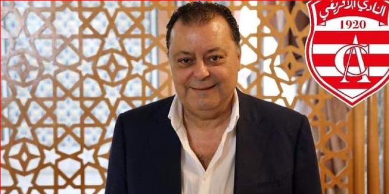 """""""لطخة النادي الأفريقي : منير البلطي يساهم ب100 ألف دينار"""